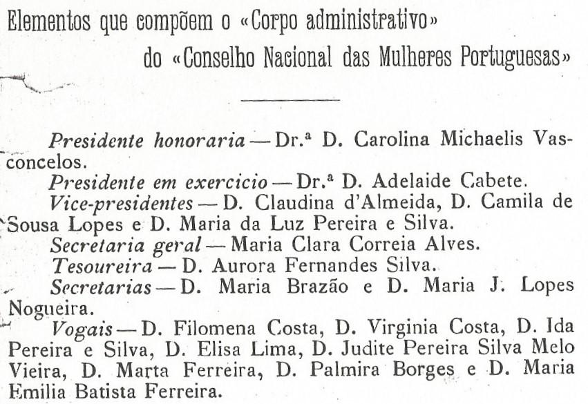 Boletim do conselho mulheres Columbia-9262