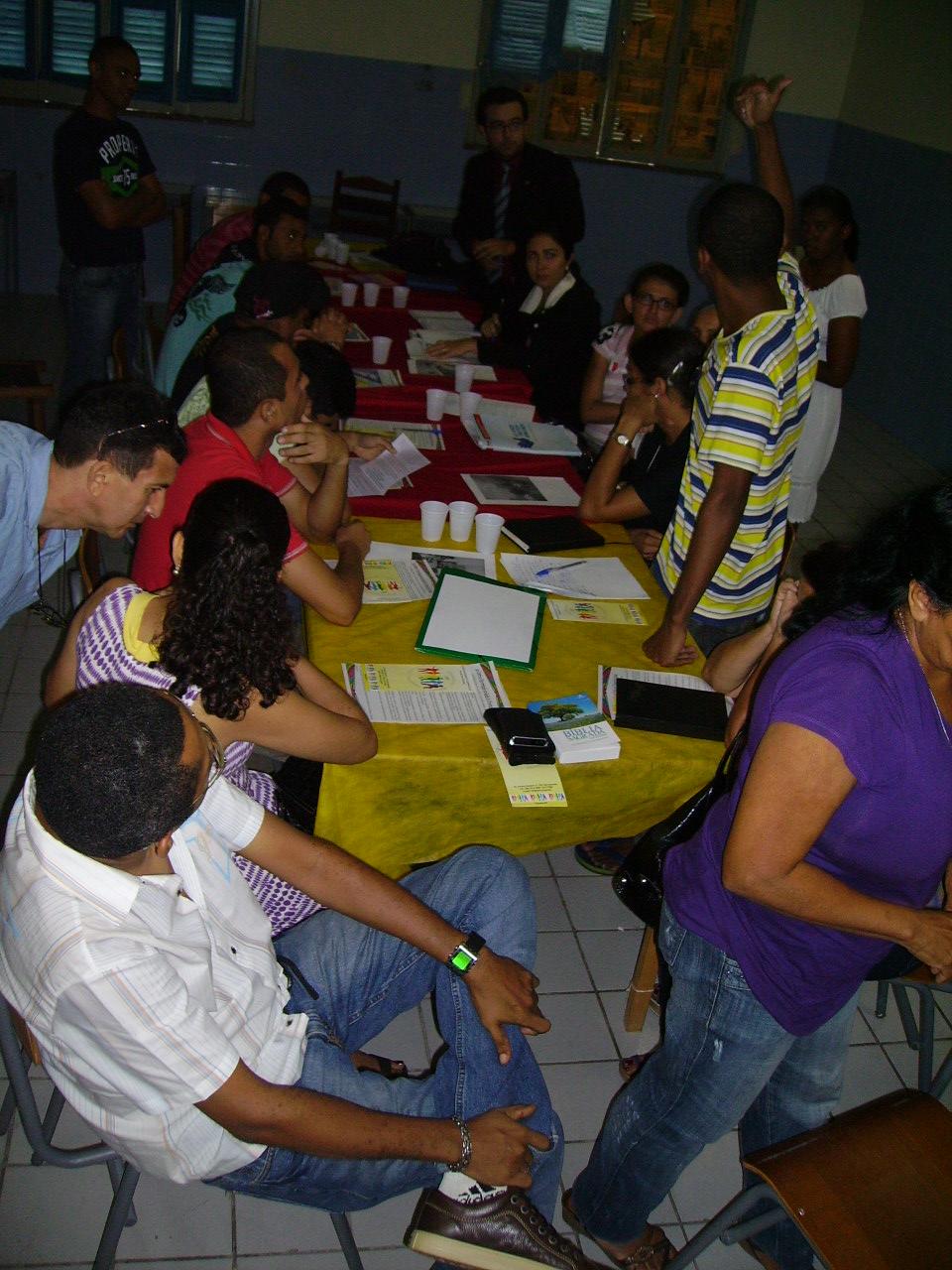 Reunião estudante do sexo Equador-4936